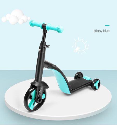 3 in 1 Kids Scooter tri-cycle--Best gift for kids ever~!