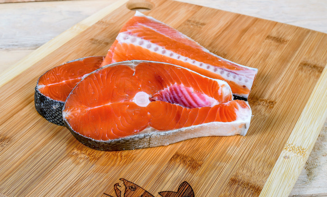 FAS #1 Coho Salmon Steak (sold out)