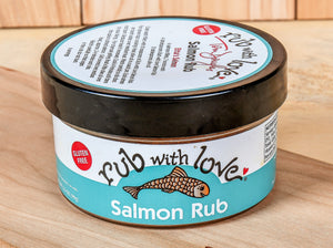 Rub With Love - Salmon Rub
