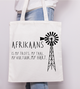 Afrikaans Is My Taal - Tote Bag