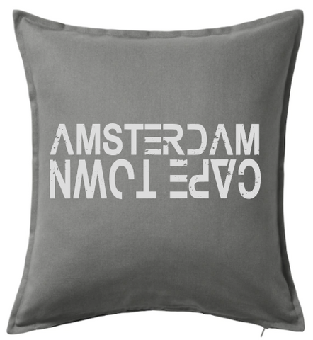 Amsterdam vs Cape Town Cushion Cover