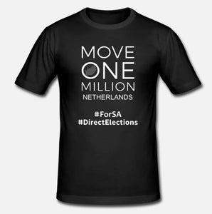 Mens Tshirt Move One Million NETHERLANDS