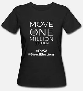 Womens T-Shirt Move One Million BELGIUM