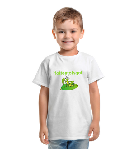 Hottentotsgot Tshirt, Praying Mantis, kids shirt, South Africa