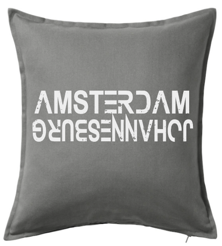 Amsterdam vs Johannesburg Cushion Cover