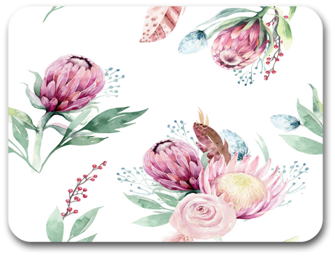 Soft Proteas Placemat (one placemat)