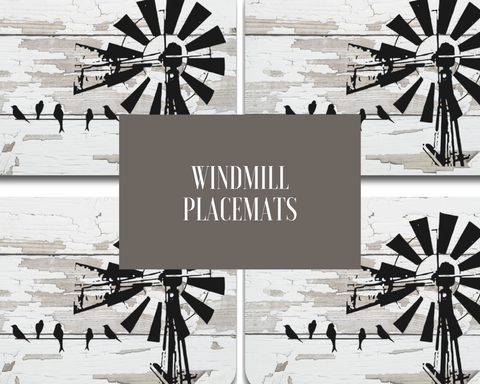 Windmill Placemats (Set of 4) Save €4
