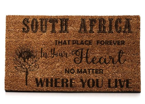 South Africa That Place Forever In Your Heart No Matter Where You Live... - Doormat