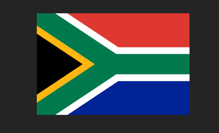 South African Flag Shirt