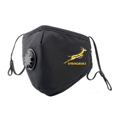 Springbok Rugby Face Mask