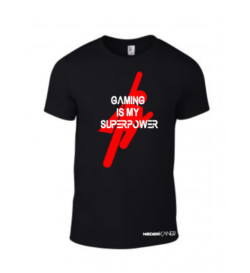 Gaming Is My SuperPower Shirt