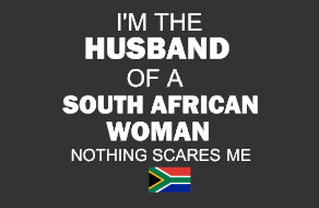 Husband of South African Woman