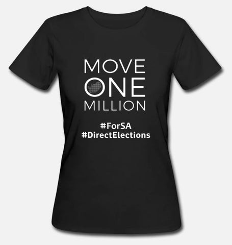 Women T-Shirt Move One Million