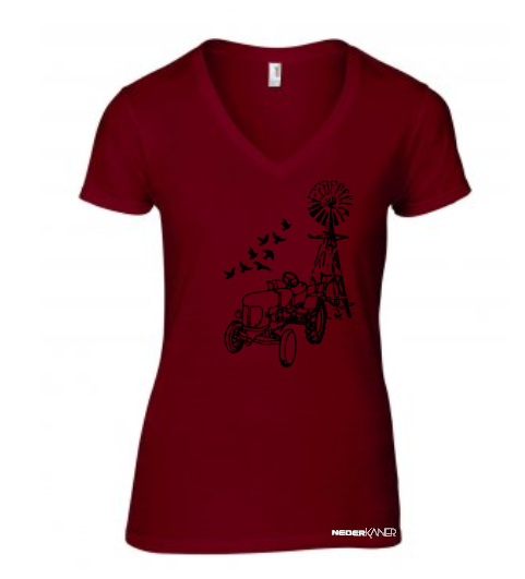 Windmill and Tractor Shirt