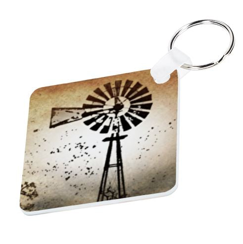 Windmill Keyring - Available In 3 Shapes