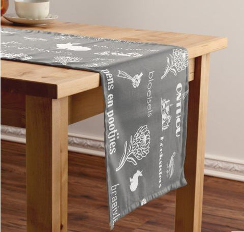 Afrikaans Table Runner