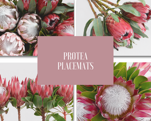 Protea Placemat (Set of 4) Save €4