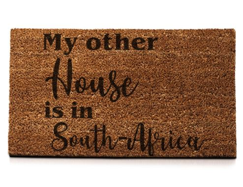 My Other House Is In South-Africa... - Doormat