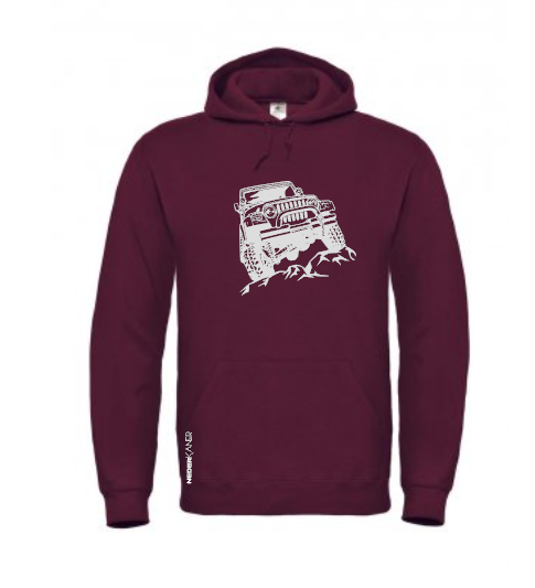 Jeep 4x4 Hoodie, South African