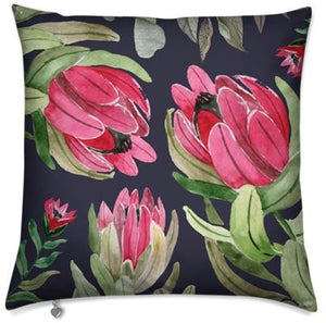 Dark Protea Cushion Cover