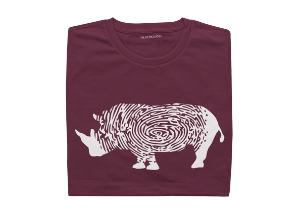 Rhino Design With Shweshwe Print