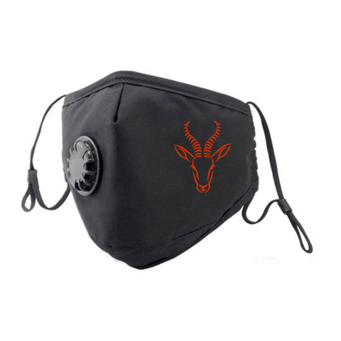 Springbok Face Mask - Red