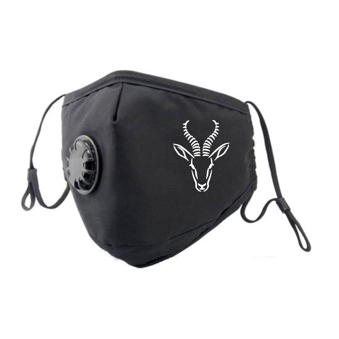 Springbok Face Mask - White