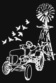 Windmill With Tractor