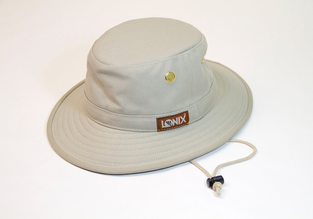 Ranger 4 - Colour  Natural with Forest Green Under Brim - Lonix Hats b856ad9fffb