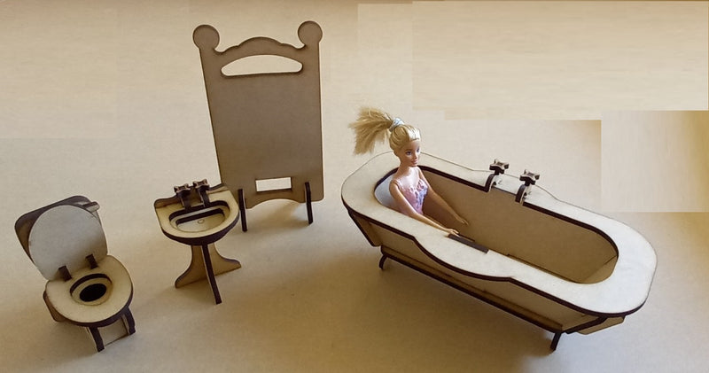 Barbie Bathroom - FleaWeb