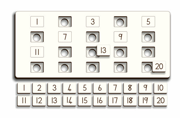 Number Symbol Puzzle For Children In  Gr R - FleaWeb
