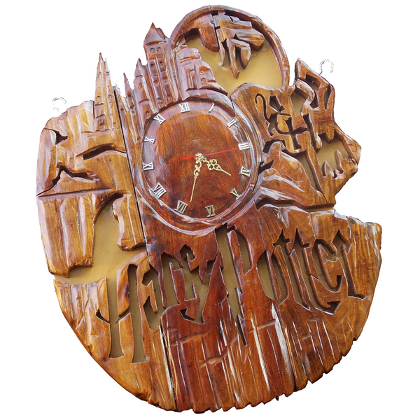 Harry Potter Wall Clock - FleaWeb