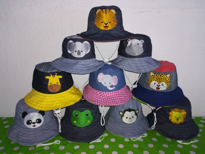 Sunhats Handmade animal Patterns - FleaWeb