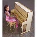 Barbie Piano and Chair - FleaWeb