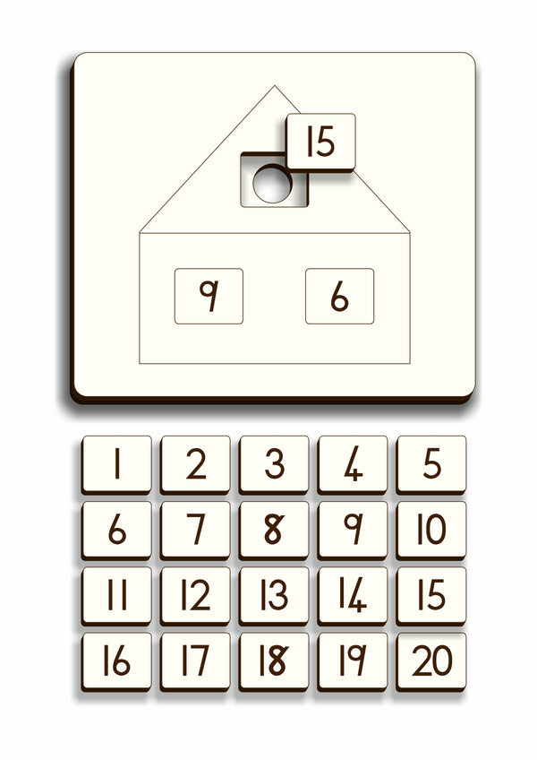 Number Combination House – Gr 1 - FleaWeb