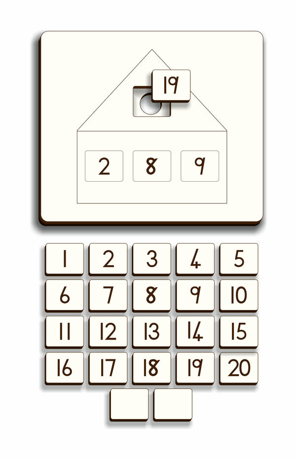 Number Combination House – Gr2 - FleaWeb