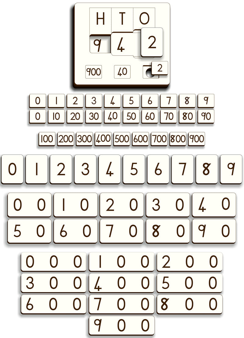 Place Value Puzzle – Gr 3 (1-999) - FleaWeb