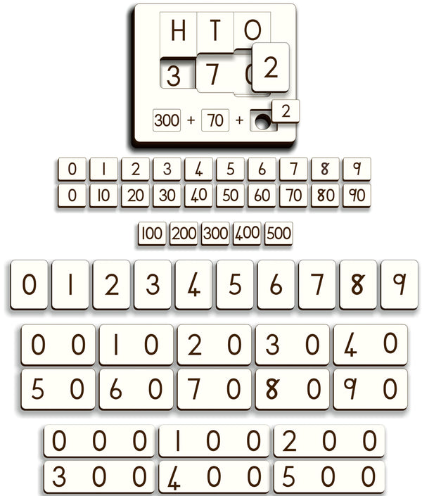 Place Value Puzzle – Gr 2 - FleaWeb