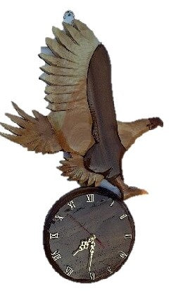 Eagle Wall Clock - FleaWeb