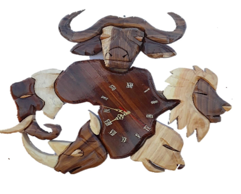 Big Five Wall Clock - FleaWeb