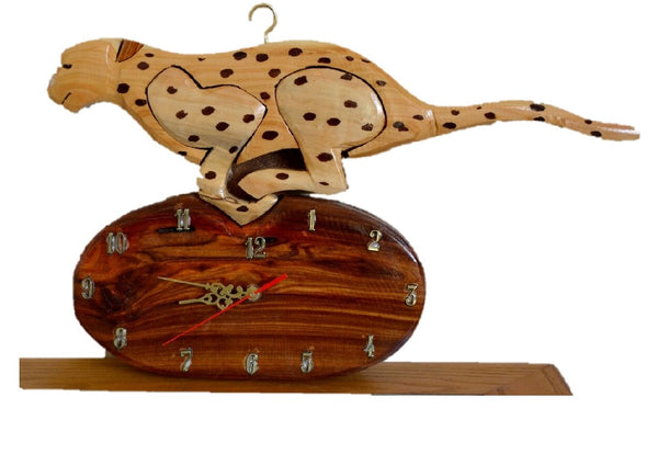Cheetah Wall Clock - FleaWeb