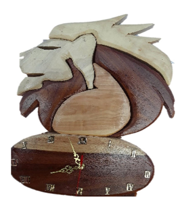 Lion Wall Clock - FleaWeb