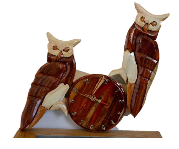 Owl Wall  Clock - FleaWeb