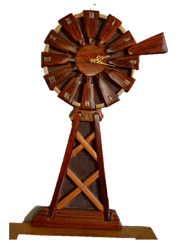 Windmill Wall Clock - FleaWeb