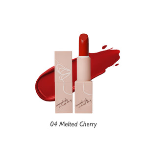 Soft-Matte Lipstick (04 Melted Cherry)