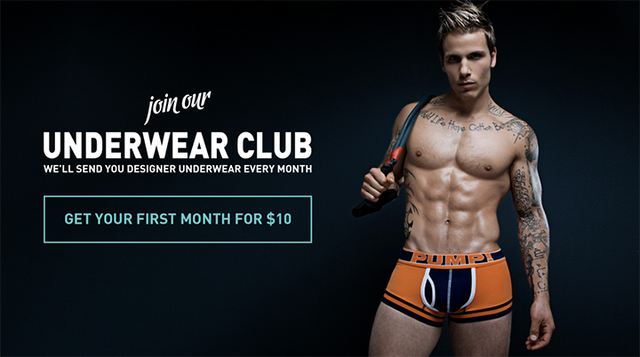 5 BENEFITS OF JOINING THE UNDERWEAR CLUB