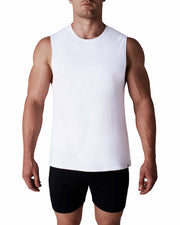 Neo Muscle Tank - White