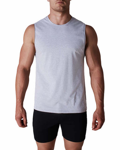 Neo Muscle Tank - Grey Marle