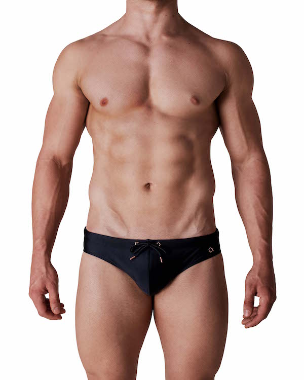 Kos Enhancing Swim Brief - Black