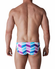 Kos Enhancing Swim Brief - Turkish Tile